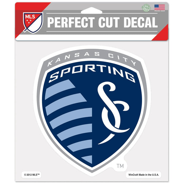 "Sporting Kansas City Perfect Cut Color Decal 8"" x 8"" by Wincraft"