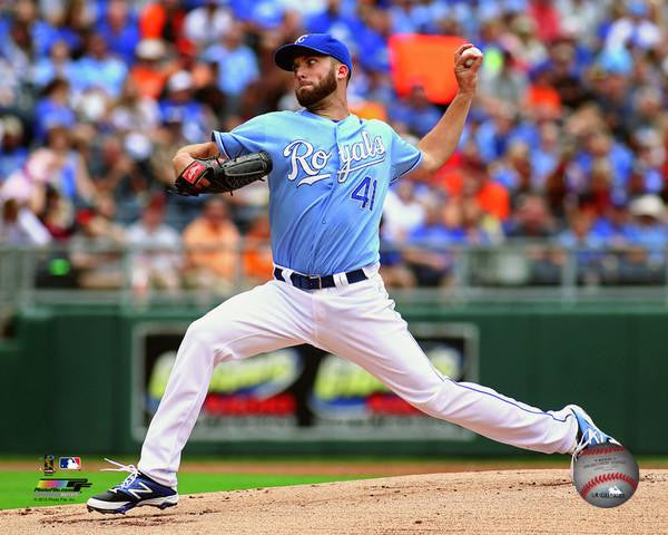 Kansas City Royals Danny Duffy Powder Blue 8x10 Photo