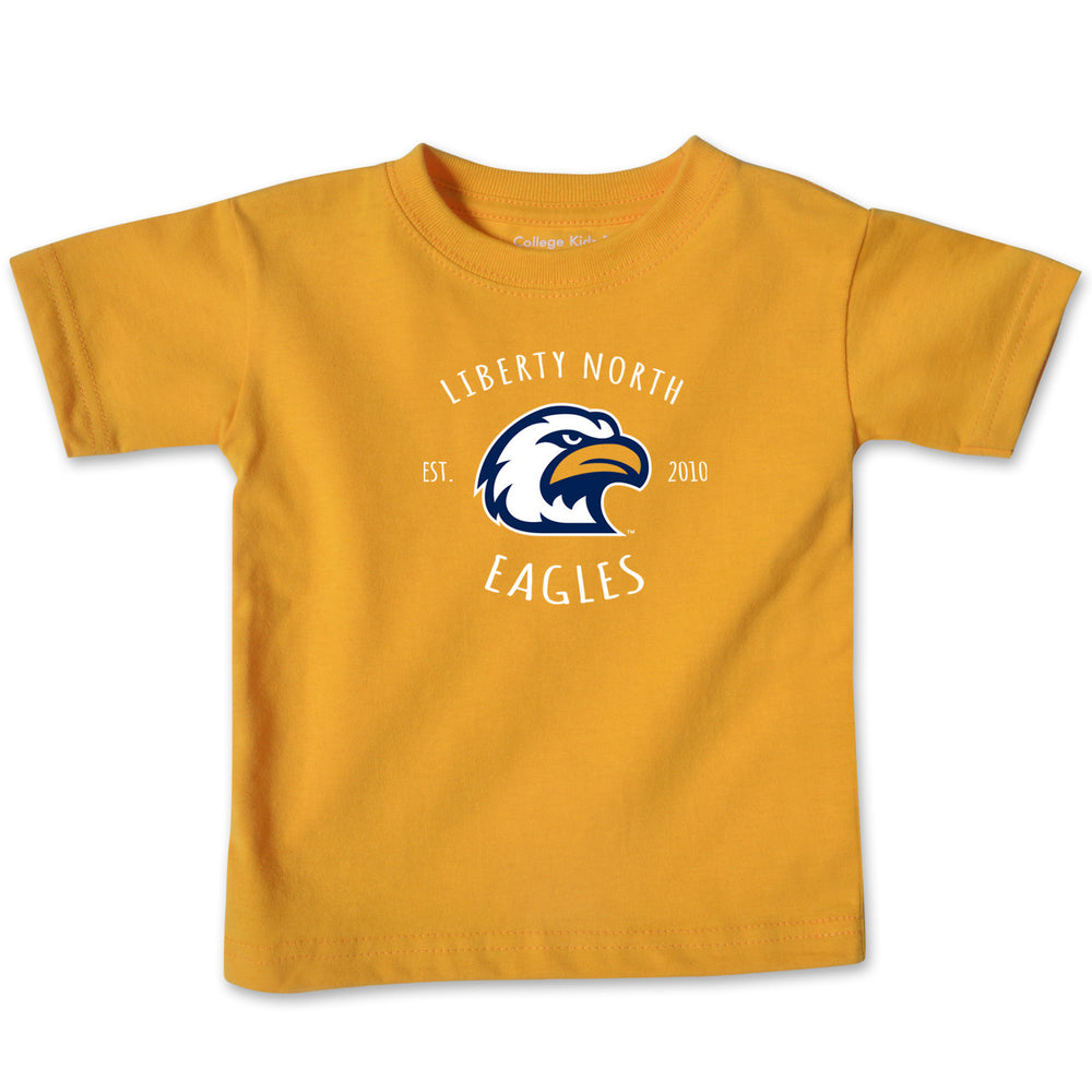 Liberty North Eagles Gold Infant T-Shirt