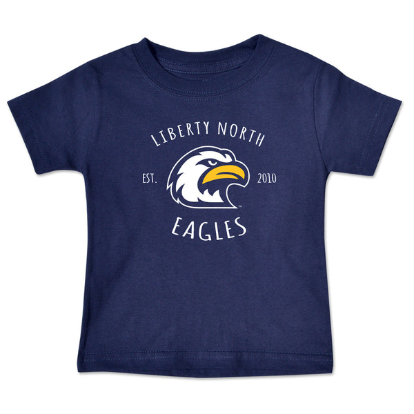 Liberty North Eagles Infant Navy Short Sleeve T-Shirt