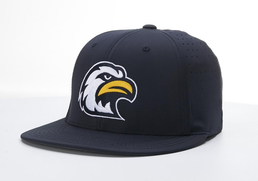 14933e44ae Liberty North Eagles Navy Flexfit PTS30 Mesh Hat by Richardson