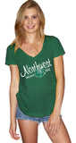 Northwest Missouri State Emily Perfect V-Neck T-Shirt