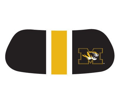 Missouri Tigers College Colors Eye Black Face Decals