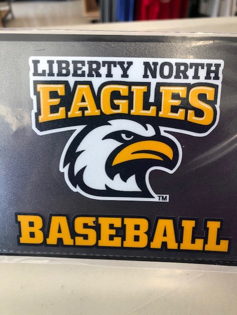 Liberty North Eagles Baseball Color Shock Decal