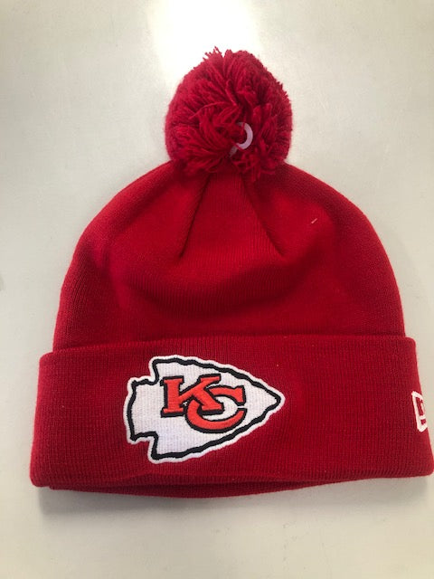 Kansas City Chiefs 2019 Red Pom Knit by New Era