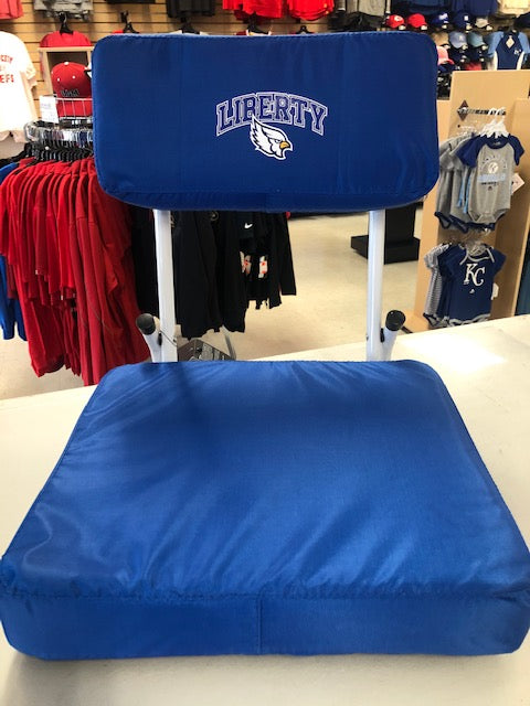 Liberty Blue Jays Hardback Stadium Seat