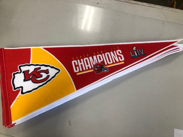Kansas City Chiefs Pennant Super Bowl
