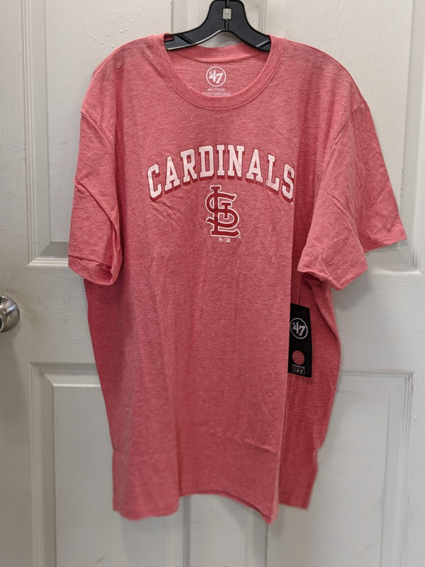 St Louis Cardinals Tri-Blend Red T-Shirt by '47 Brand
