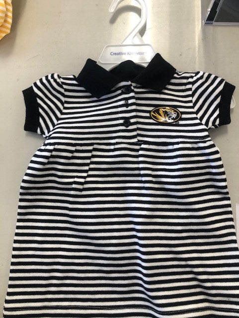 Mizzou Striped Dress with Bloomers
