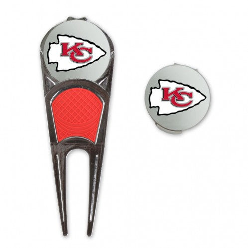 Kansas City Chiefs Golf Mark/Tool/H Clip Combo