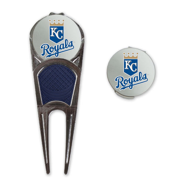 Kansas City Royals Golf Mark/Tool/H Clip Combo