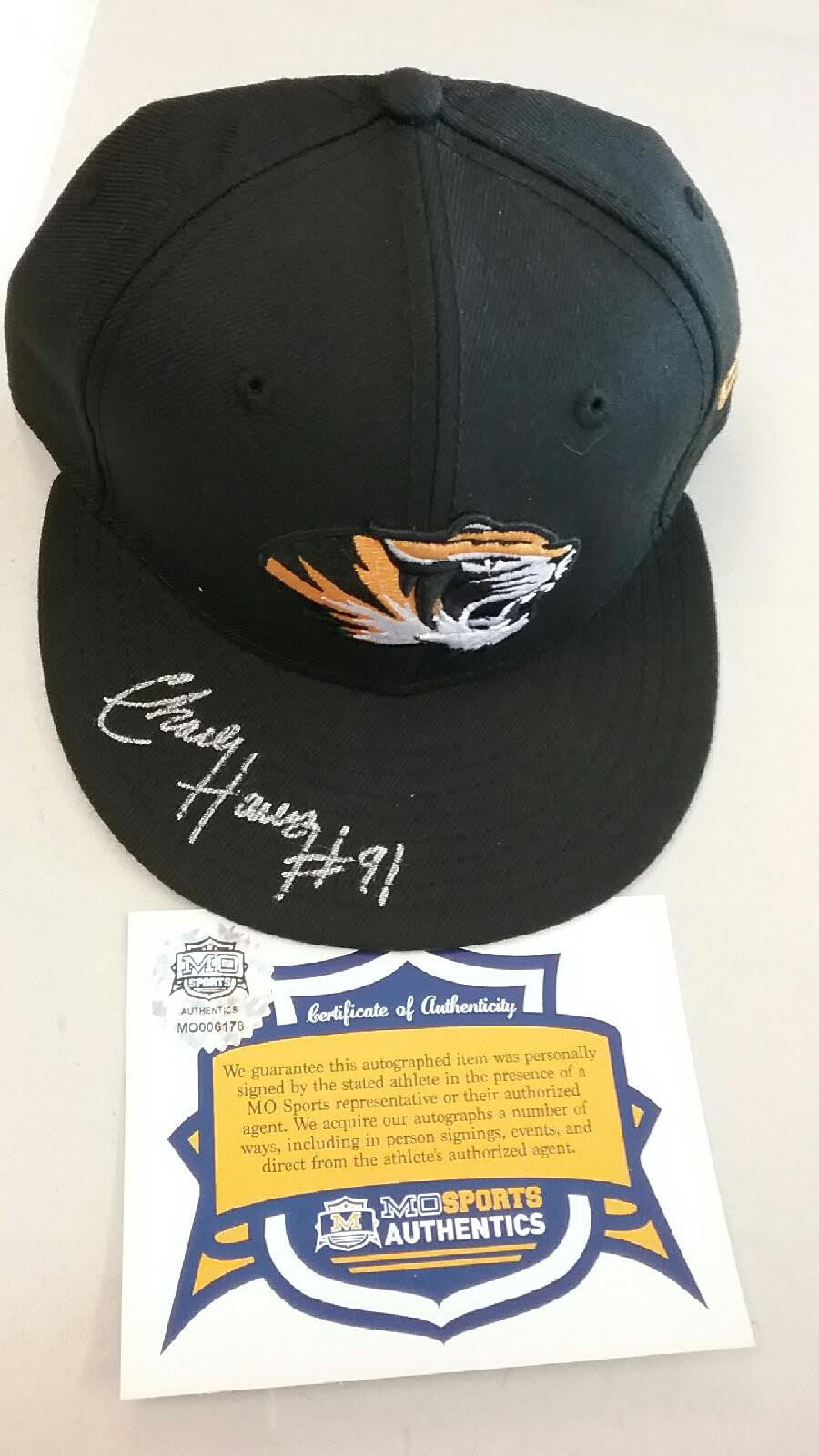 4a196d78df524 Missouri Tigers Charles Harris Signed Autographed New Era Hat COA ...