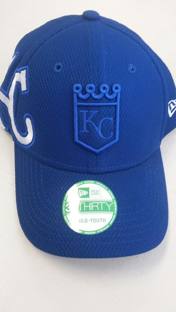 Kansas City Royals Jr. Logo Twist 39THIRTY Hat by New Era