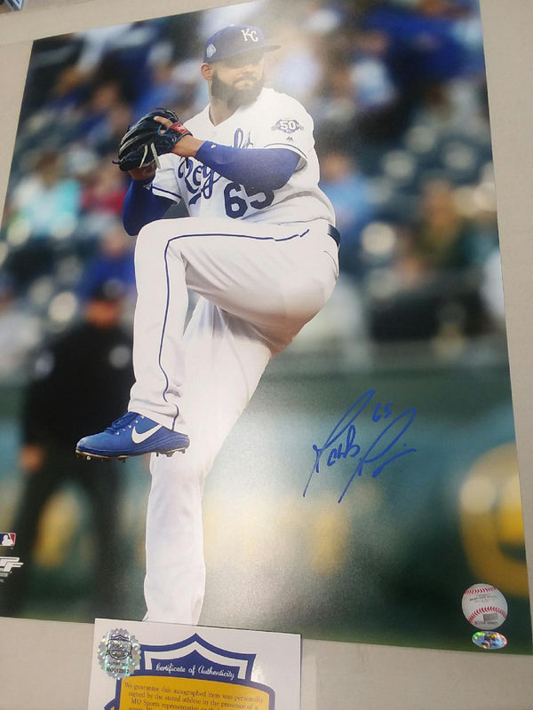 Kansas City Royals Jakob Junis Signed Autographed 16x20 Photo COA