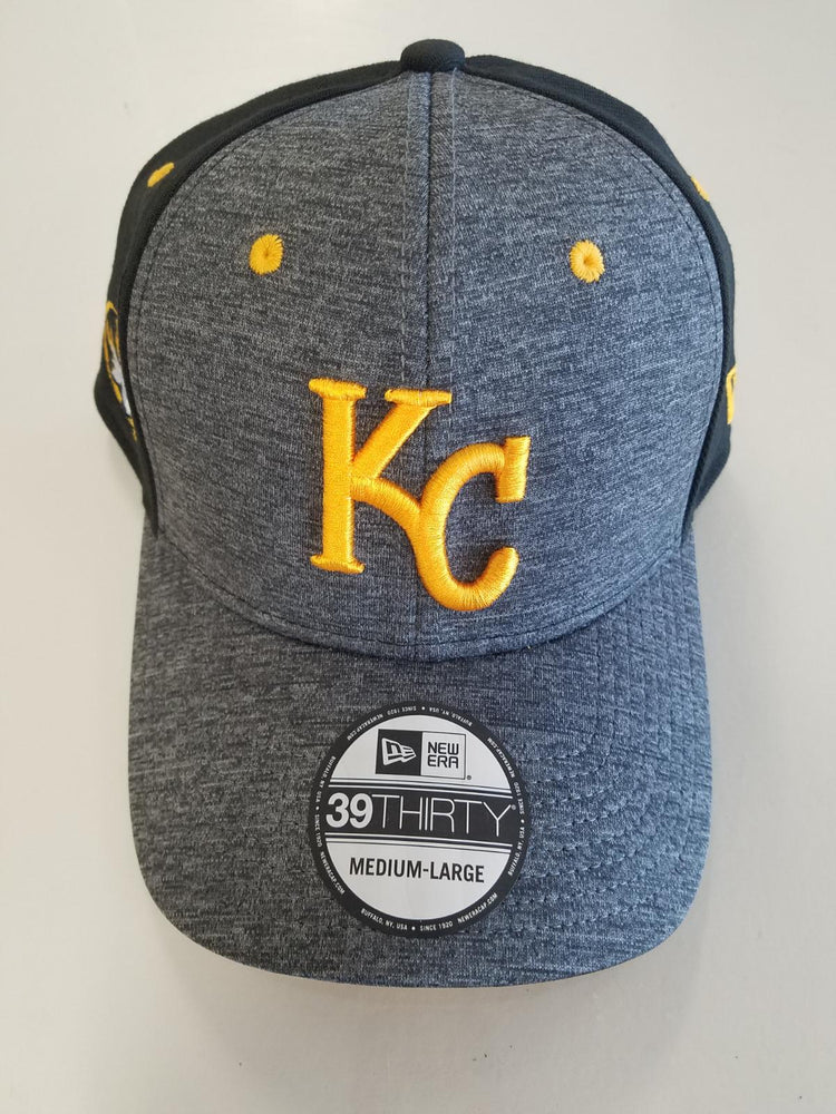 Kansas City Royals Missouri Tigers Shadow Tech Black/Gray 39THIRTY Hat by New Era