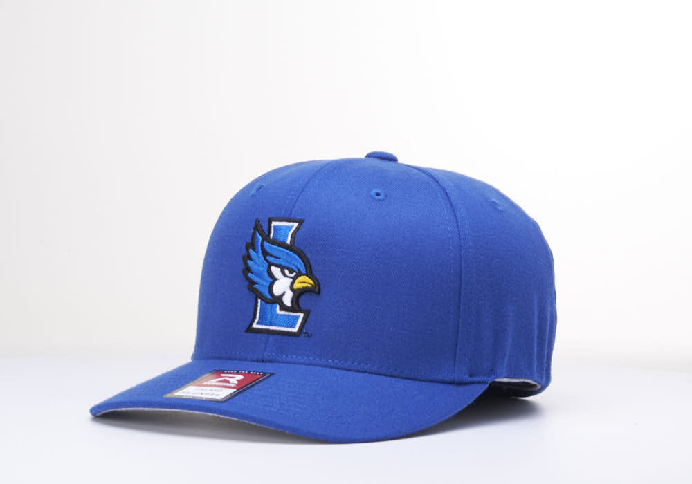 Liberty Blue Jays L Logo 585 Stretch Fit Hat by Richardson