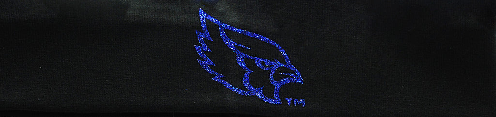Liberty Blue Jays Black Bling Headband by Fan Star