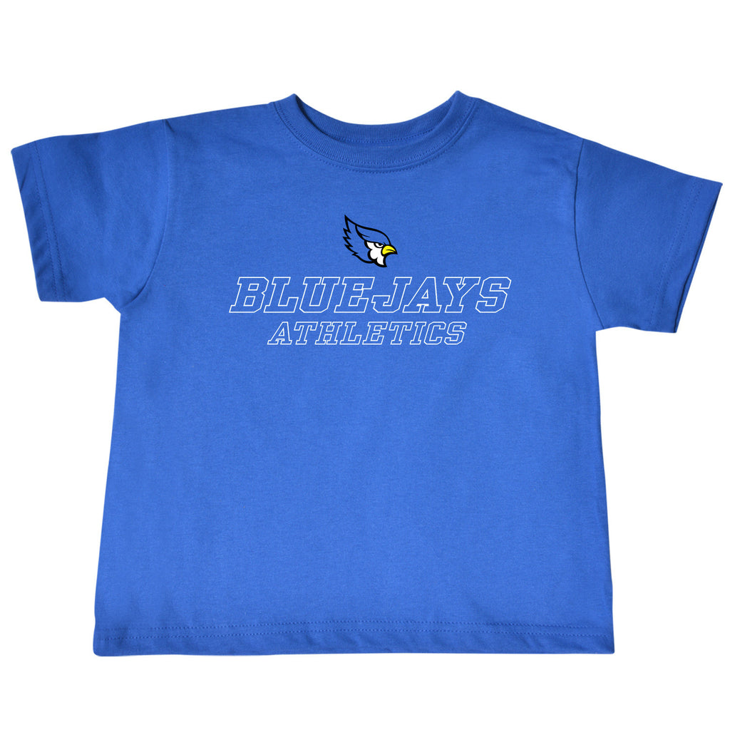 Liberty Blue Jays Toddler Blue Athletics T-Shirt