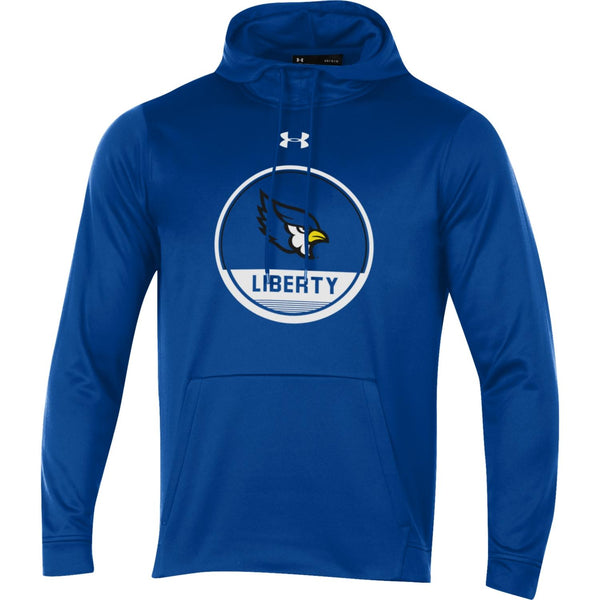 Liberty Blue Jays Circle Logo Armour Fleece Hood by Under Armour