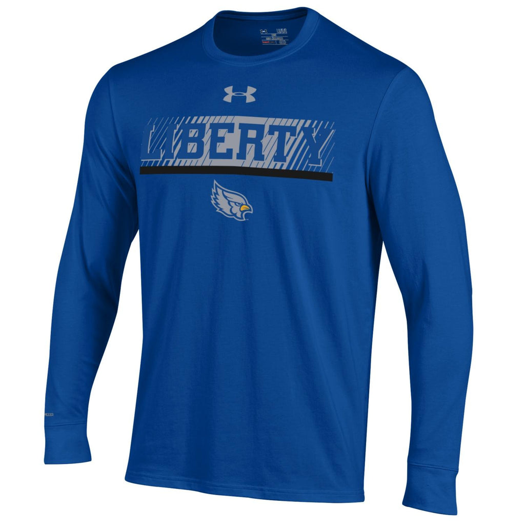 Liberty Blue Jays Long Sleeve Charged Cotton T-Shirt by Under Armour