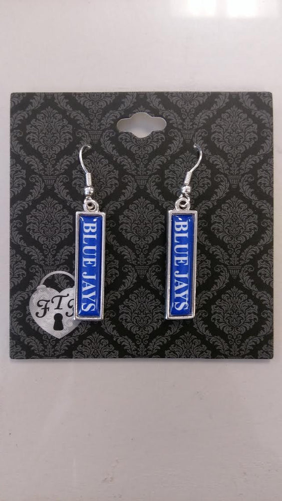 Liberty Blue Jays Wordmark Earrings by Haute