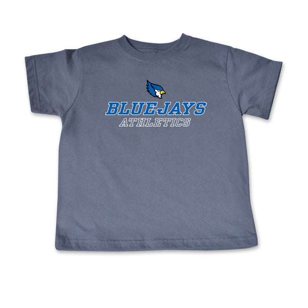 Liberty Blue Jays Toddler Gray Athletics T-Shirt