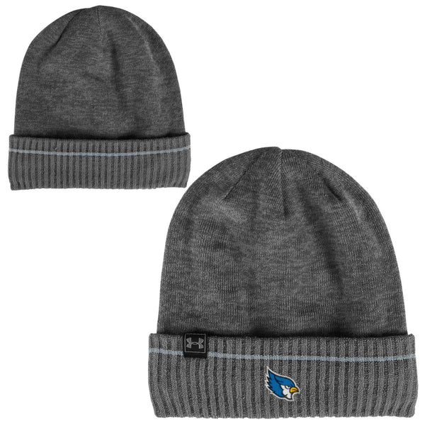 Liberty Blue Jays Gray Skull Knit Hat by Under Armour