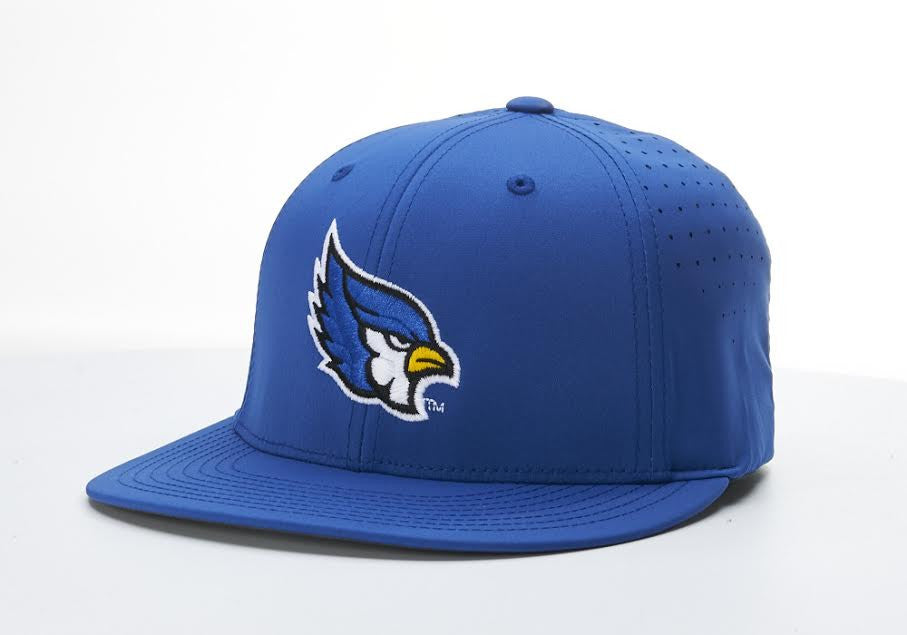 Liberty Blue Jays Royal Blue Flexfit PTS30 Mesh Hat by Richardson