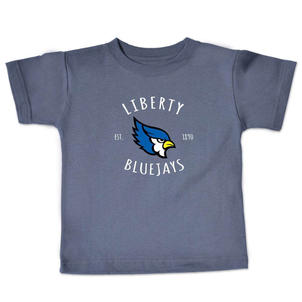 Liberty Blue Jays Infant Gray T-Shirt