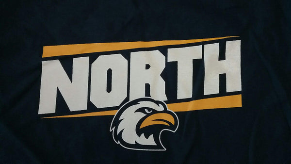 LIberty North Eagles Navy T-Shirt