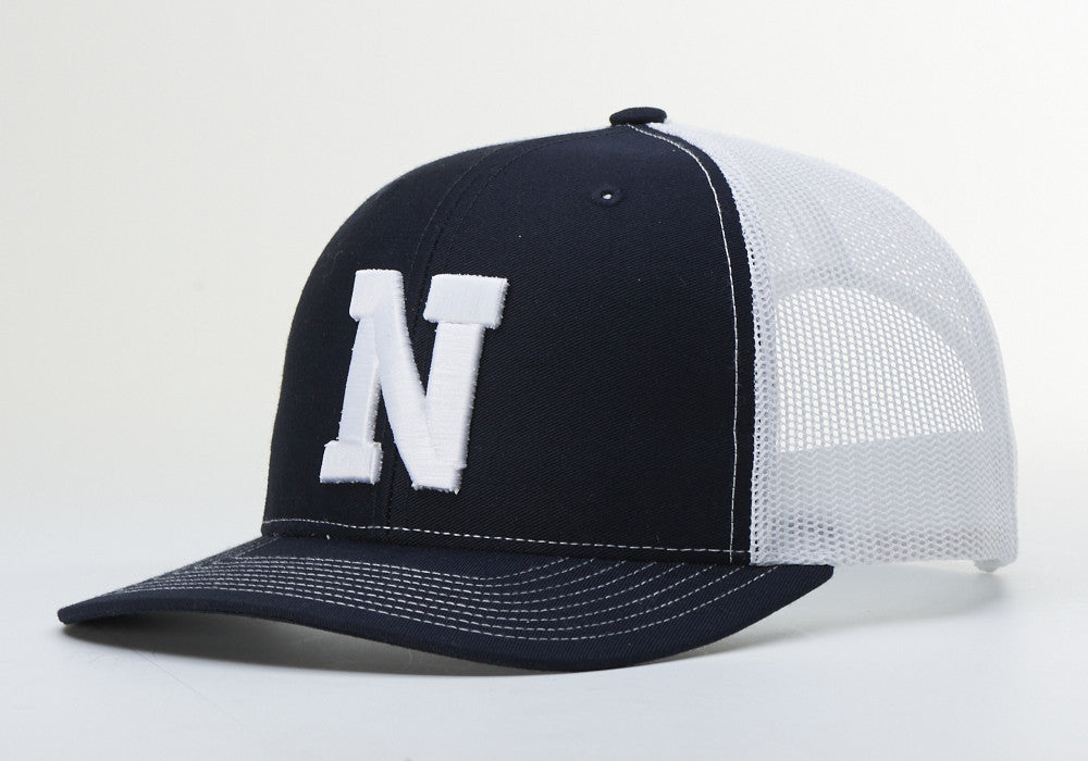 2df7b69505fd0 Liberty North Eagles Navy Adjustable Mesh Hat by Richardson