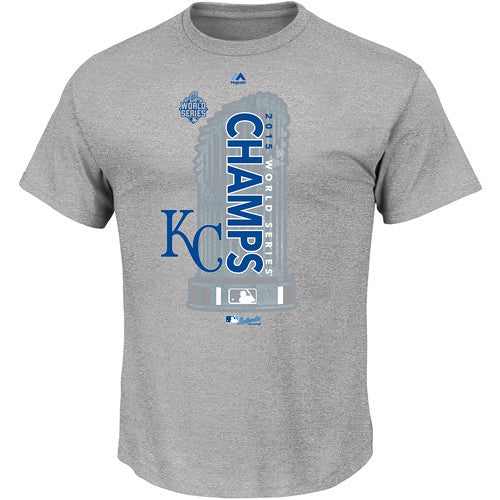 Kansas City Royals Youth Locker Room World Series Champions T-Shirt by Majestic