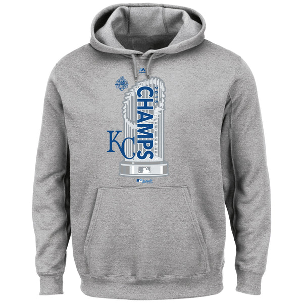 Kansas City Royals Youth Locker Room Hooded Sweatshirt by Majestic