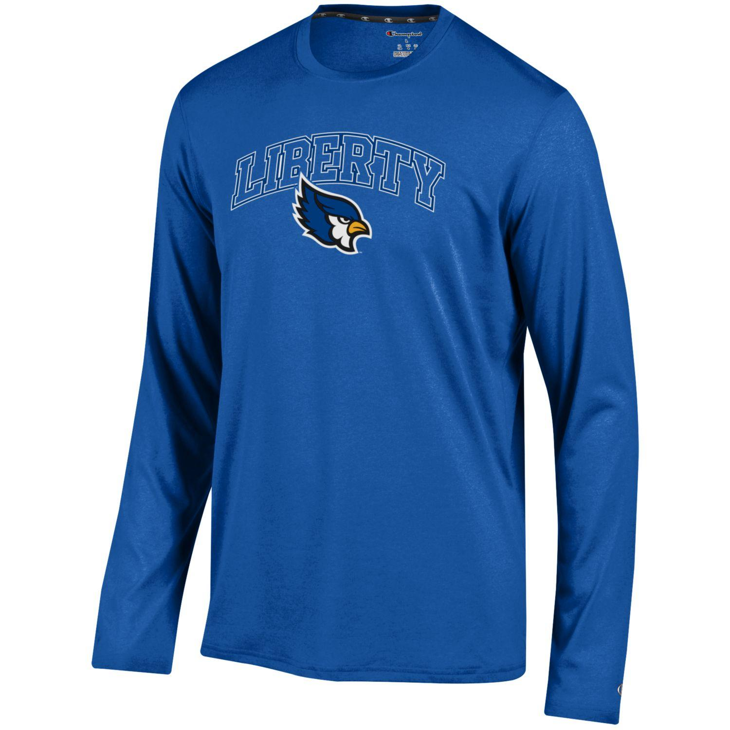 bfd1c644 Liberty Blue Jays Royal Blue Long Sleeve Epic Tee by Champion | MO Sports  Authentics, Apparel & Gifts