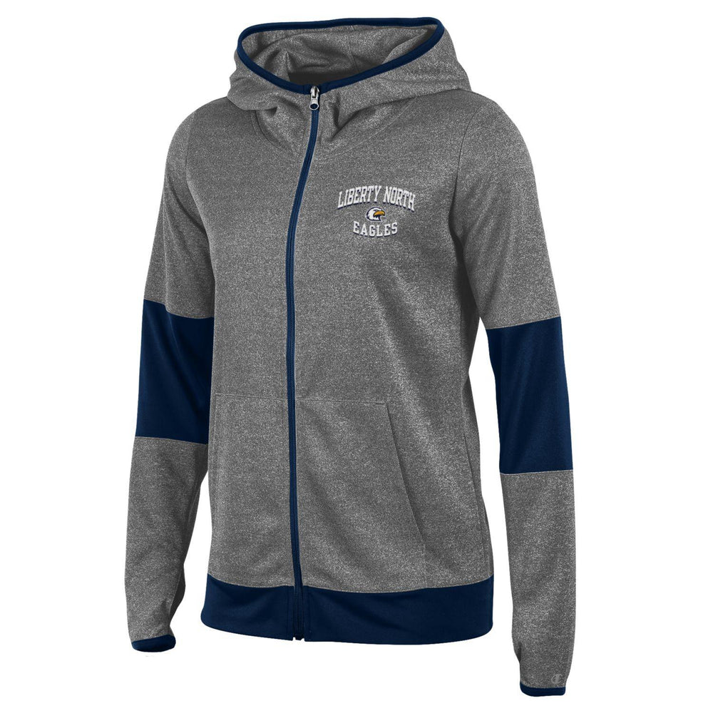 Liberty North Eagles Ladies Convergence Full Zip Jacket by Champion