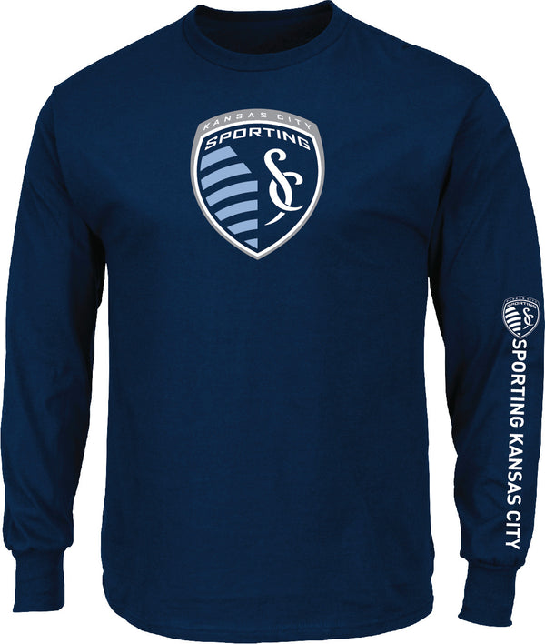 Sporting Kansas City Global Sensation Long Sleeve T-Shirt by Majestic