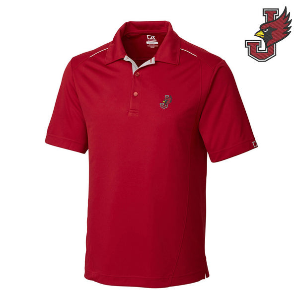 William Jewell College Foss Hybrid Polo Shirt by Cutter & Buck
