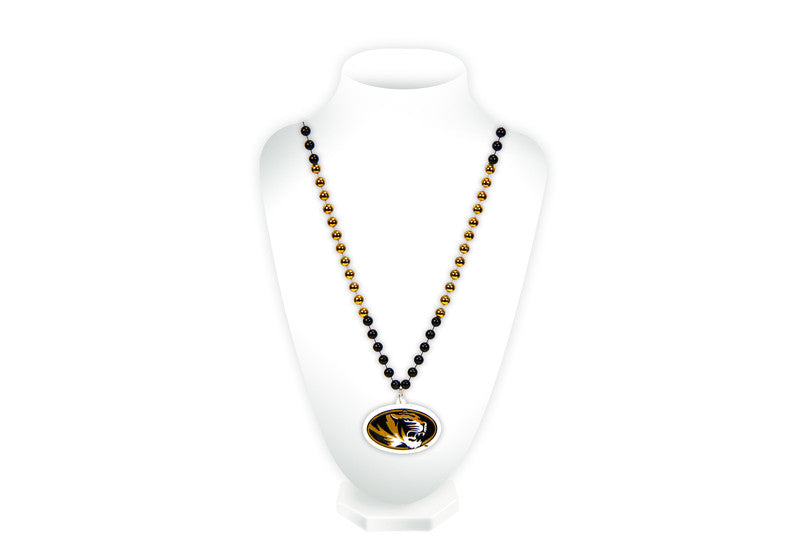 Missouri Tigers Sports Beads w/ Medallion