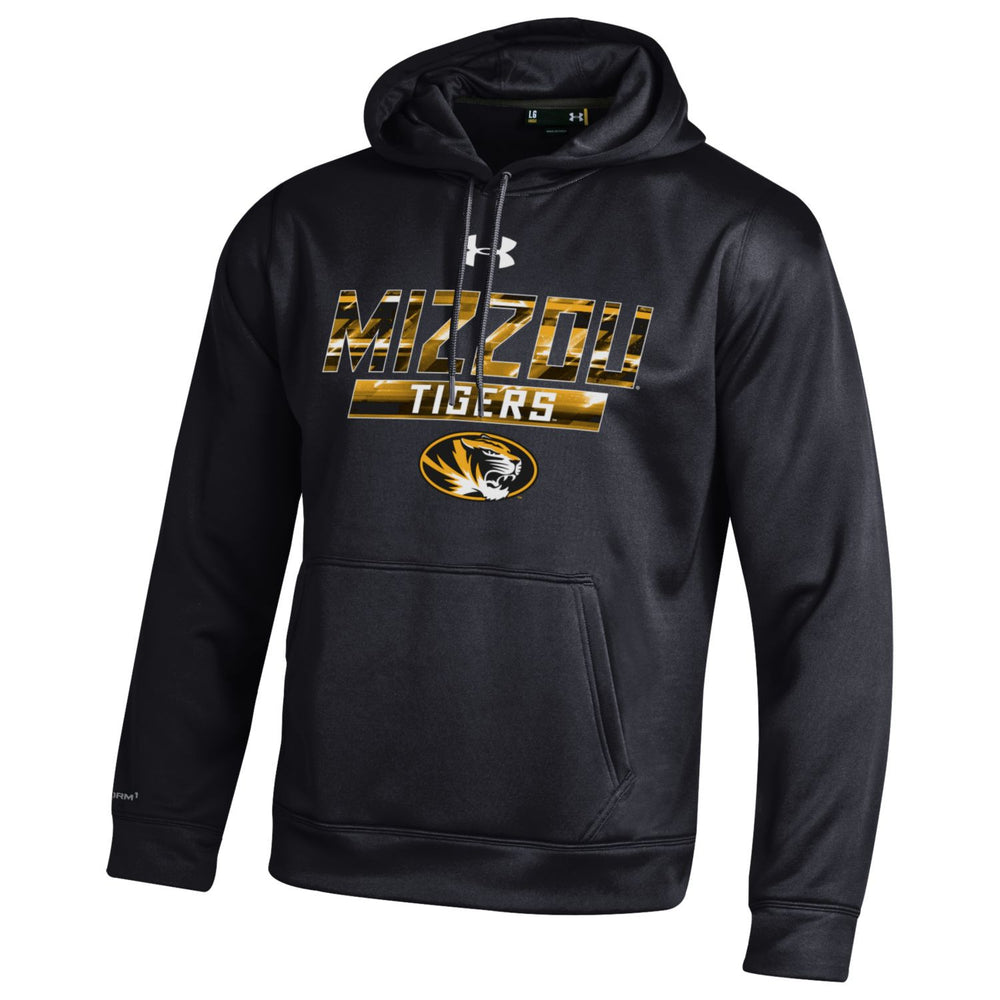 "Missouri Tigers ""Mizzou"" Black Storm Hoodie by Under Armour"