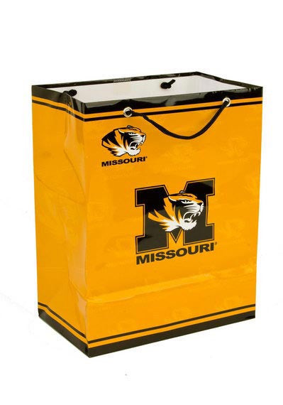 Missouri Tigers Gift Bag-Medium