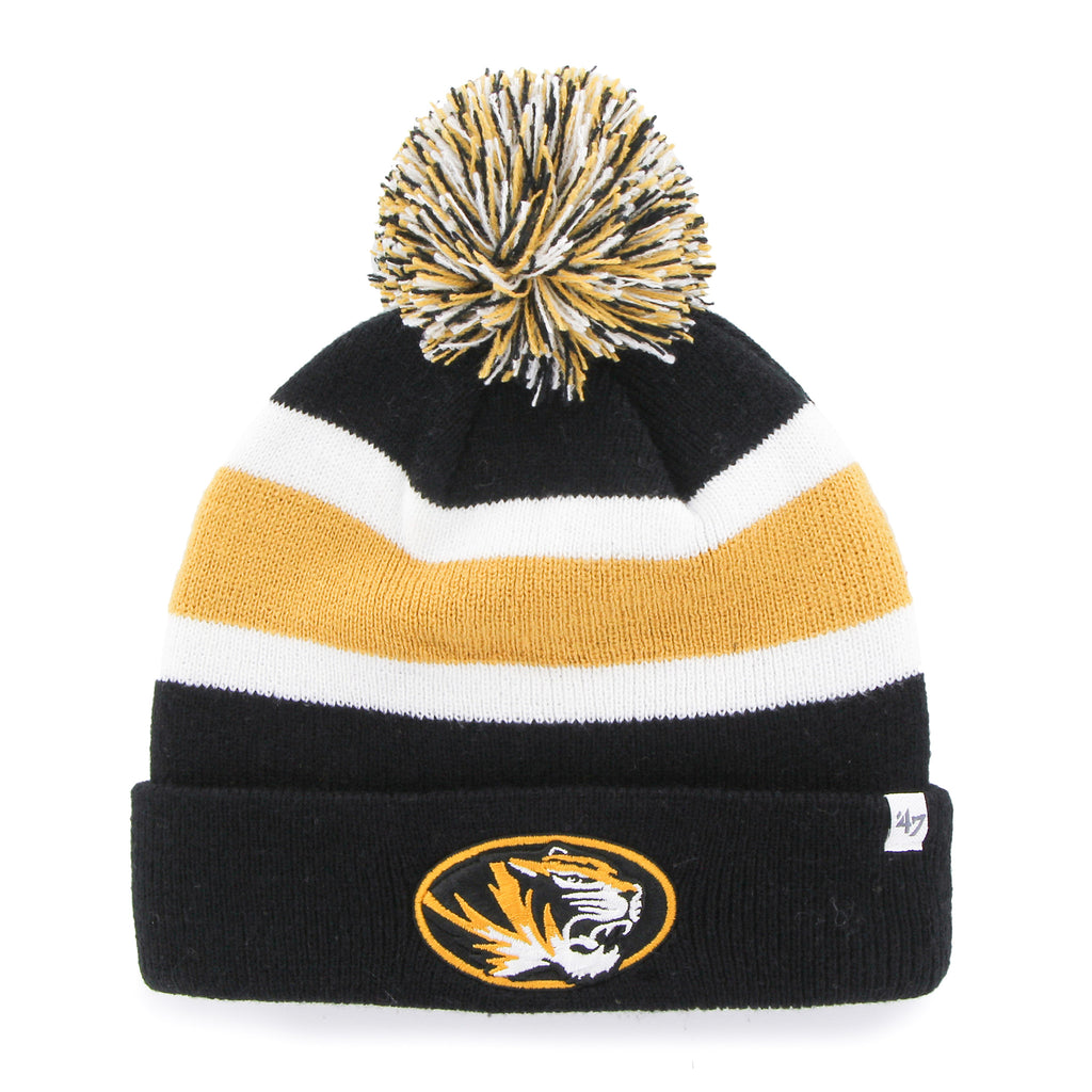 Missouri Tigers Cuffed Pom Knit by