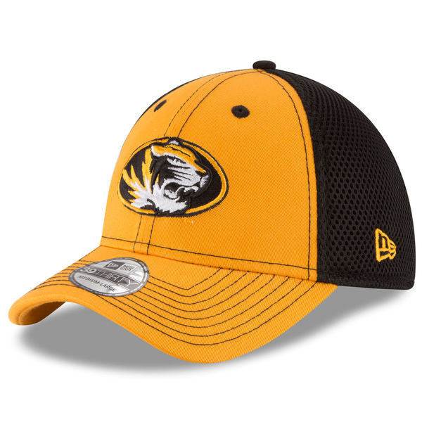 meet ee346 a5091 Missouri Tigers Team Front Neo 39THIRTY Hat by New Era