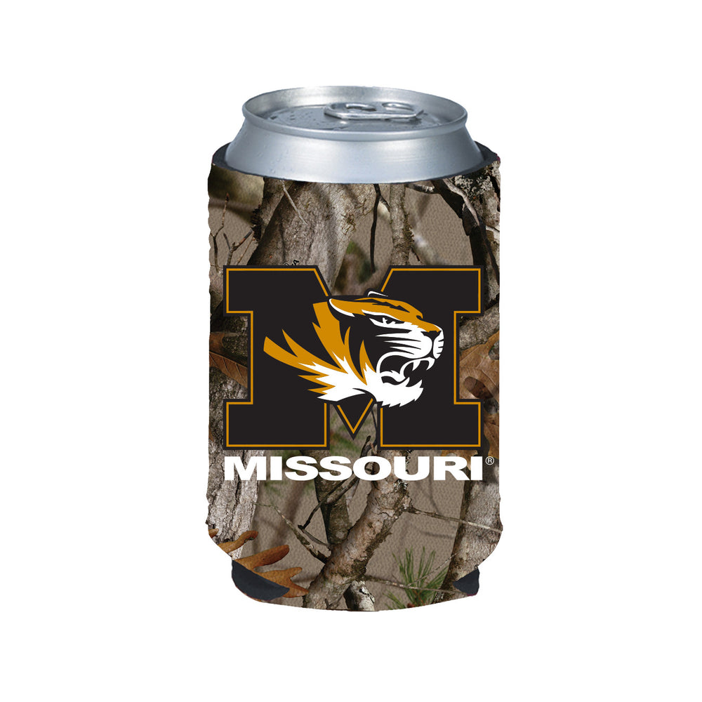 Missouri Tigers Camo Can Coozi