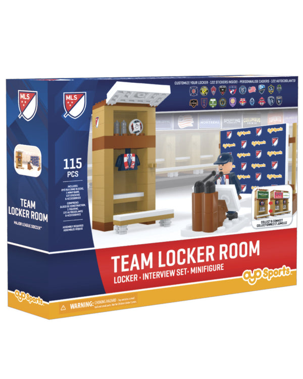 Sporting Kansas City Team Locker Room Set 115 Pcs by Oyo