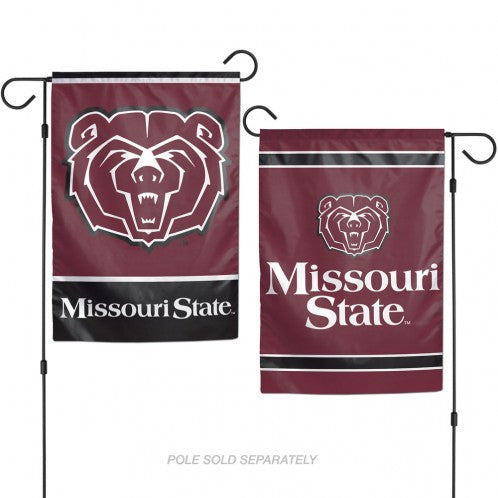 "Missouri State University Garden Flags 2 sided 12.5"" x 18"""
