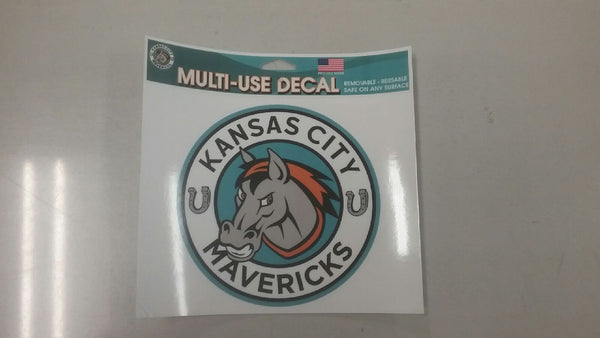 Kansas City Mavericks Multi Use Decal