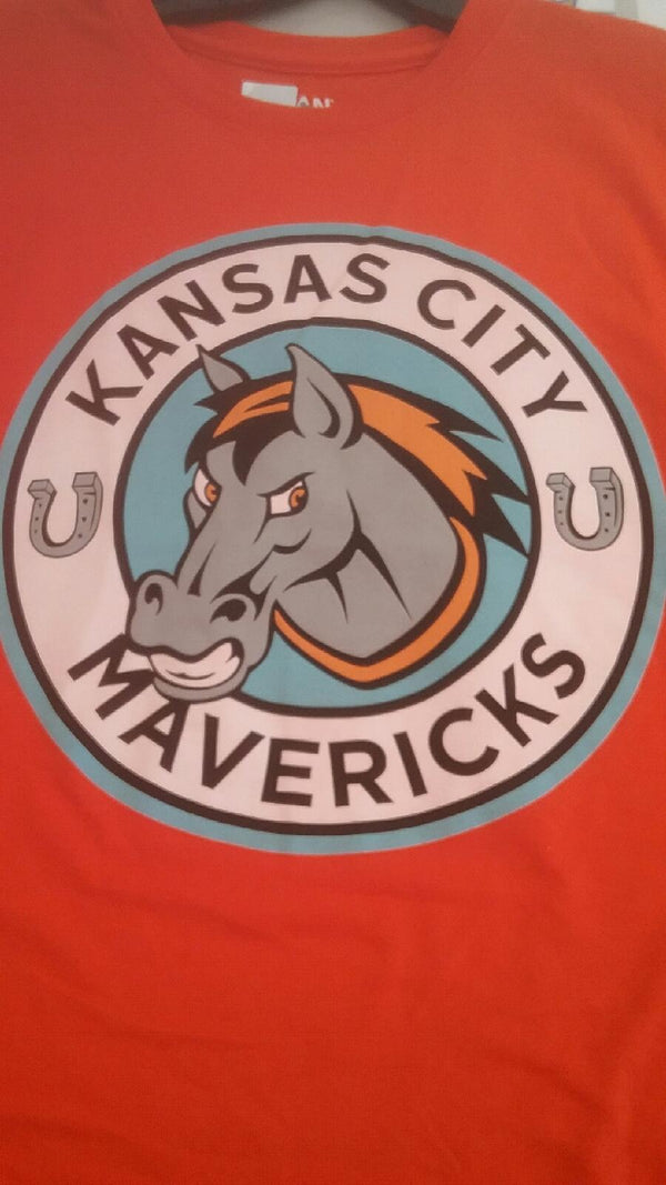 Kansas City Mavericks Youth Long Sleeve Logo T-Shirt