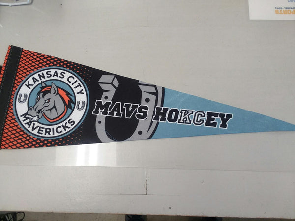 "Kansas City Mavericks 9""x24"" Premium Roll N Go Pennant"