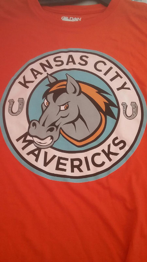 Kansas City Mavericks Youth Short Sleeve Logo T-Shirt