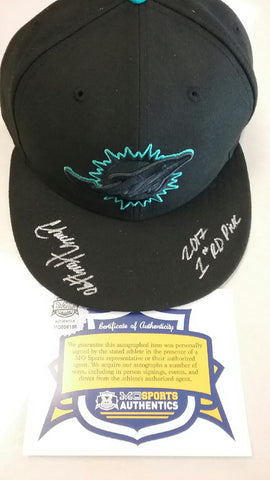 Miami Dolphins Mizzou Charles Harris Signed Autographed Hat COA